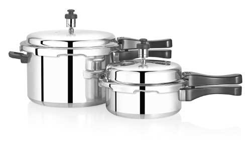 Premier Aluminium Pressure Cooker 5+2 Litres