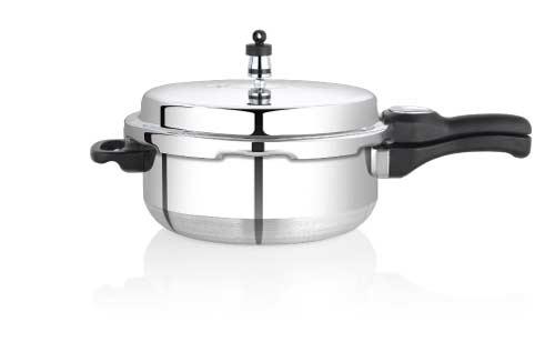 Premier Netraa Aluminium Pressure Pan Small U0026 Large